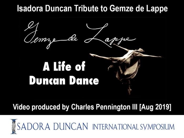 201908 Gemze de Lappe Duncan Video